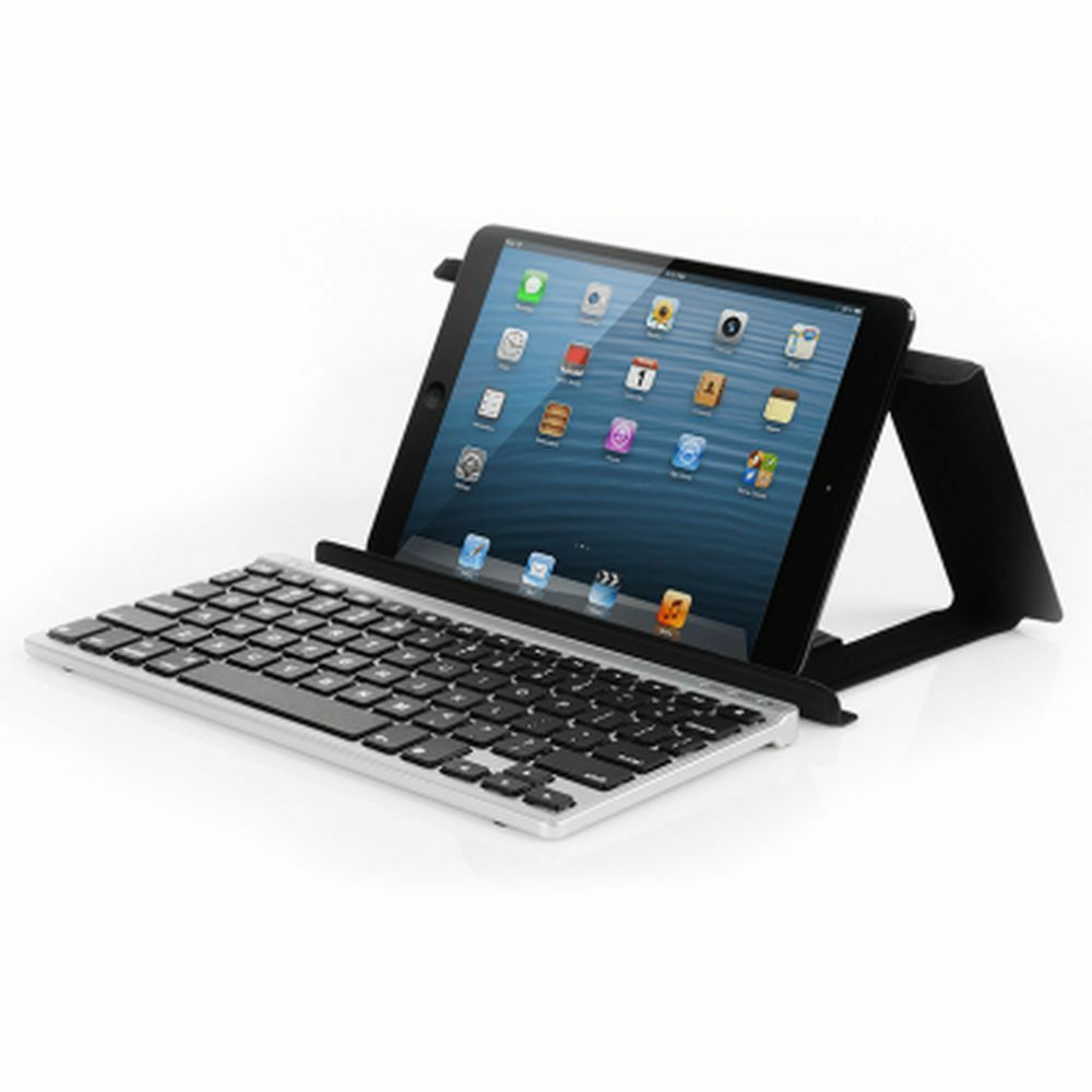 Bluetooth Keyboard Apple Android: ZAGG ZAGGkeys FLEX Universal Bluetooth Wireless Keyboard W/Stand For IOS Android 843404078370