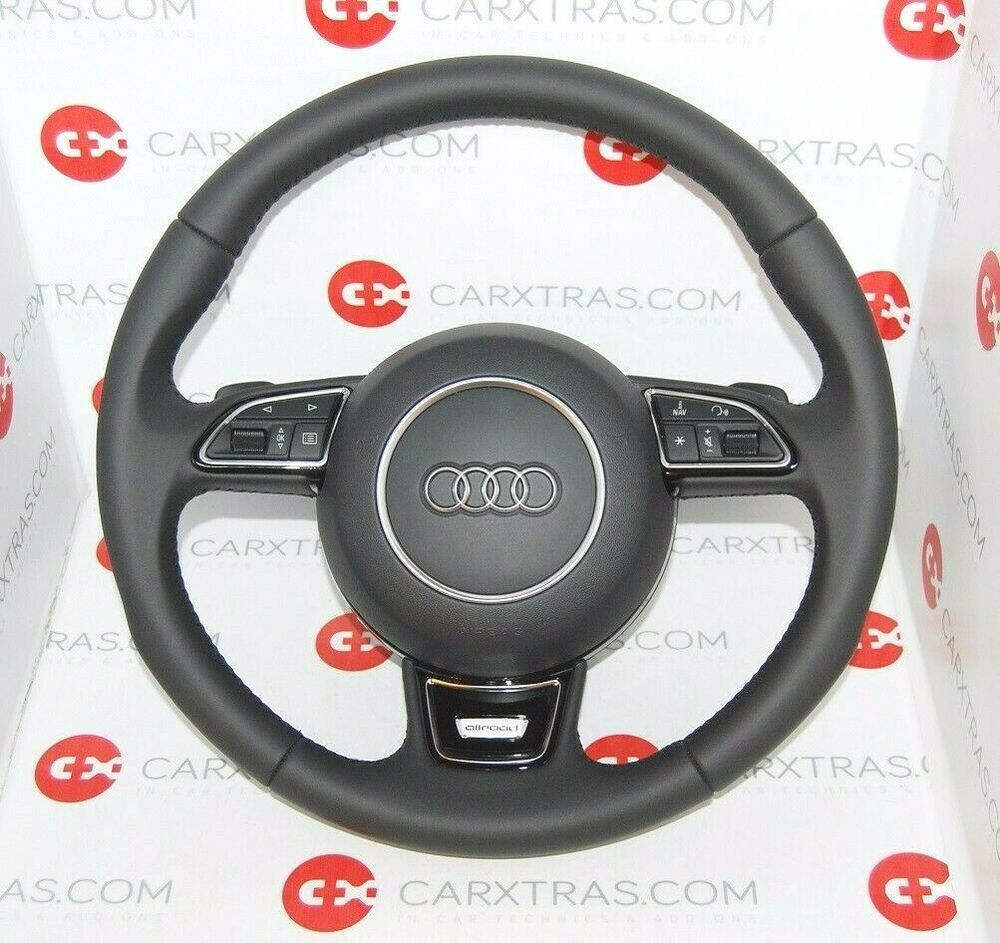 GENUINE AUDI A6 ALLROAD S-TRONIC COMPLETE STEERING WHEEL
