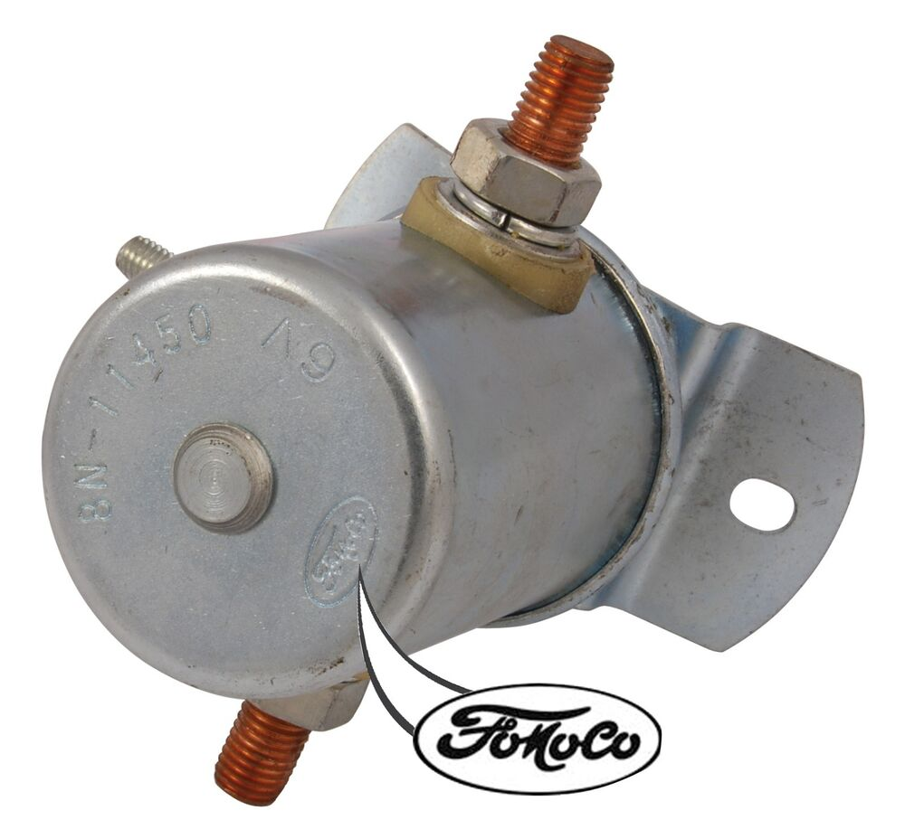 Ford 8n Switch : Ford solenoid n autos post