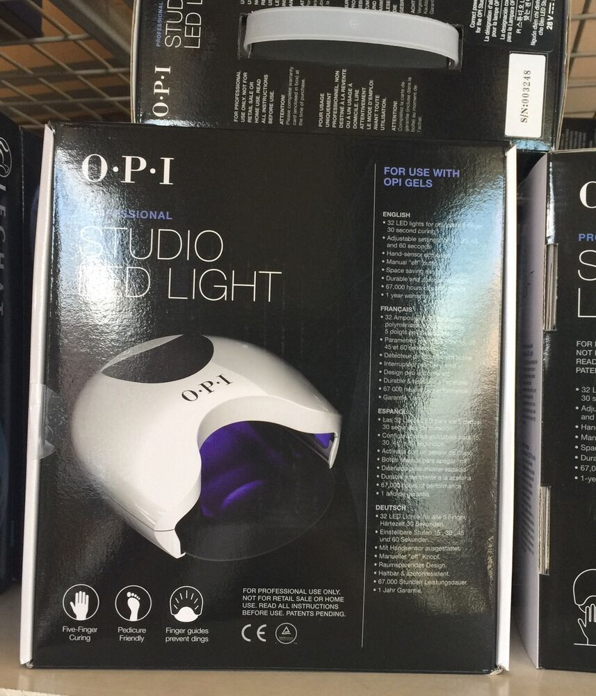 Opi Studio Led Light Gl901: Authentic OPI Studio LED Light 110V GL900