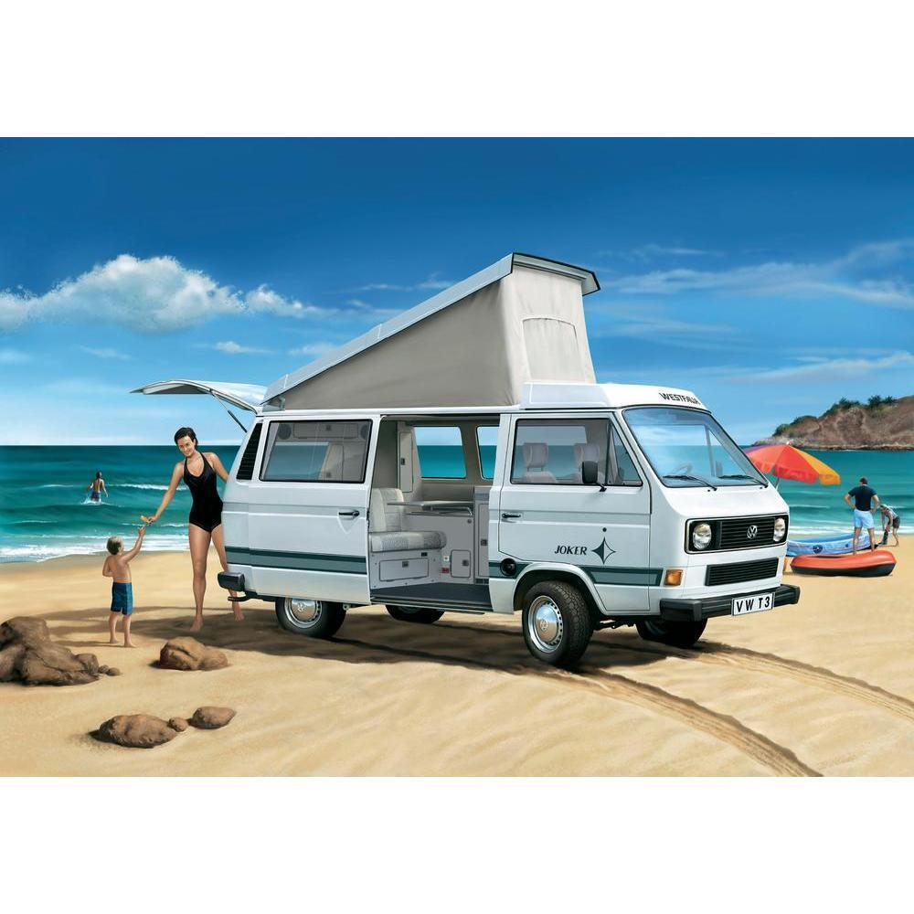 Vw Campervan Accessories >> VW T3 Westfalia Joker Camper Campervan Poptop 1:24 25 Scale Detailed Model Kit | eBay