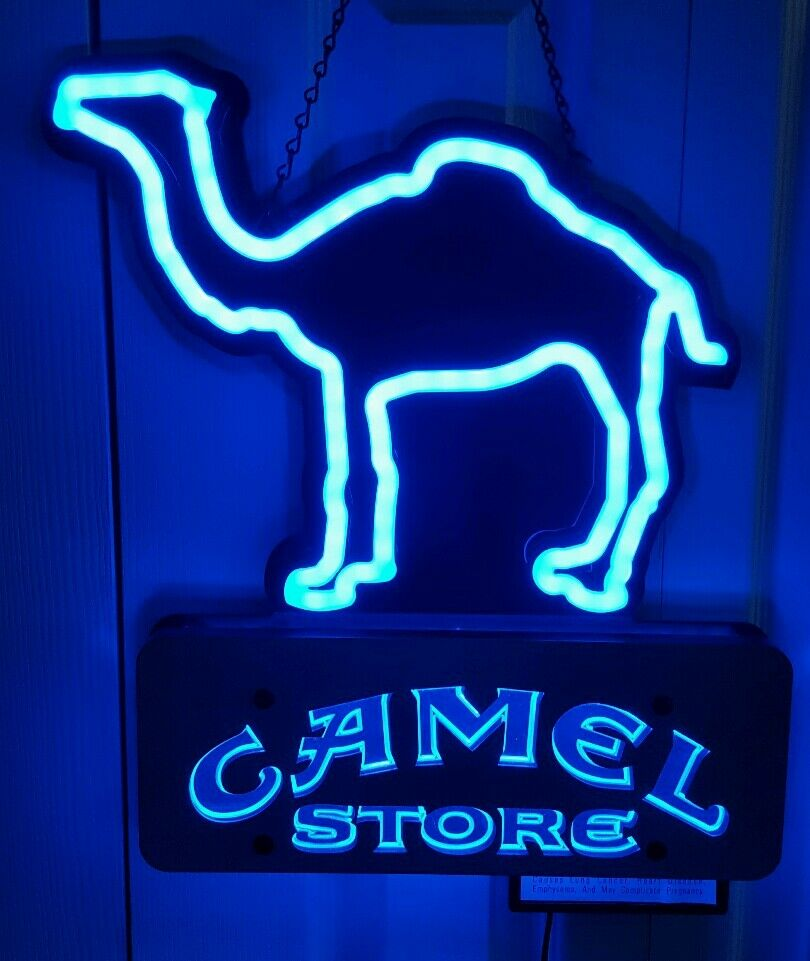 Neon Light Shop In Philippines: CAMEL STORE Neon Like Cigarette Advertising Sign