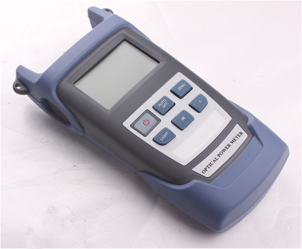 Optical Fiber Monitor : Optical power meter optic cable tester lcd display