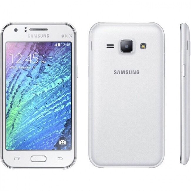 Samsung Galaxy J Duos Jh Dual Sim G White Unlocked Mobile Phone New Ebay