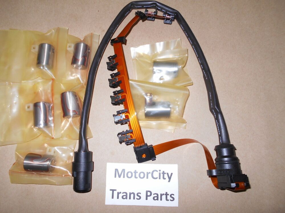 Master Transmission Solenoid Kit Ribbon Style Harness O1m