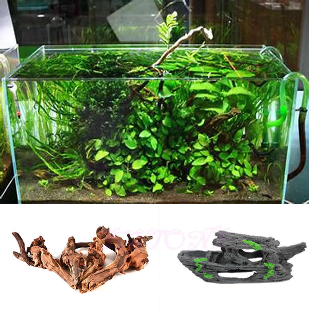 Small sweep wood artificial shipwreck fish shrimp tank for Aquarium wood decoration