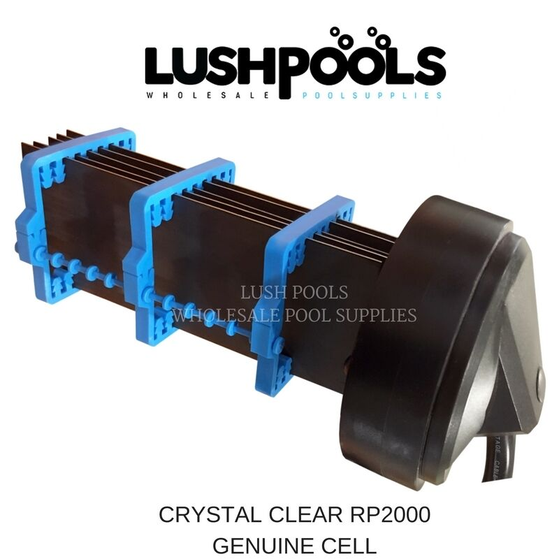 Crystal Clear Rp2000 Salt Water Chlorinator Cell 5 Year