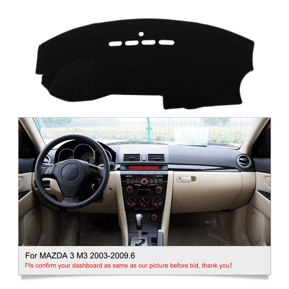 Fits For Mazda 3 M3 2003 2009 6 Dashmat Dashboard Cover Mat Car Interior Fly5d Ebay