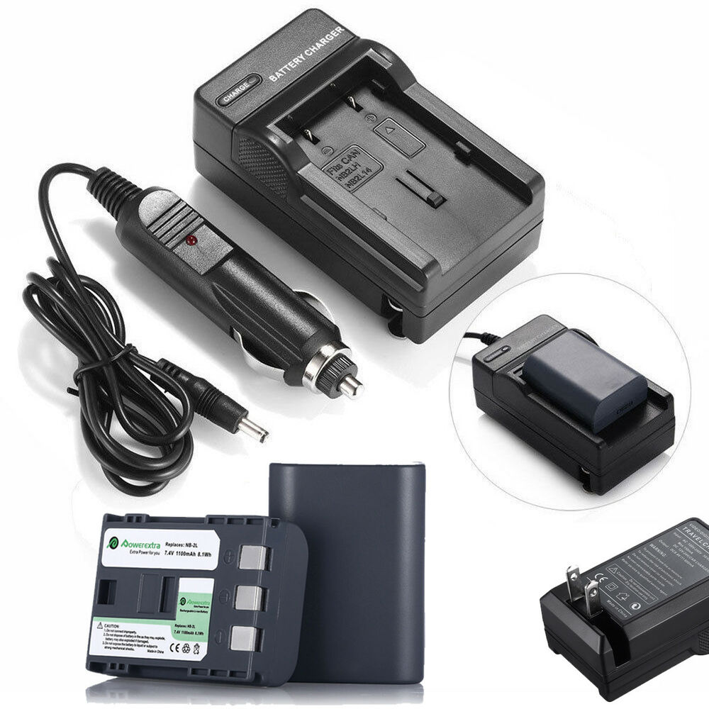 Nb 2lh Nb 2l Battery Charger For Canon Rebel Xt Xti Eos