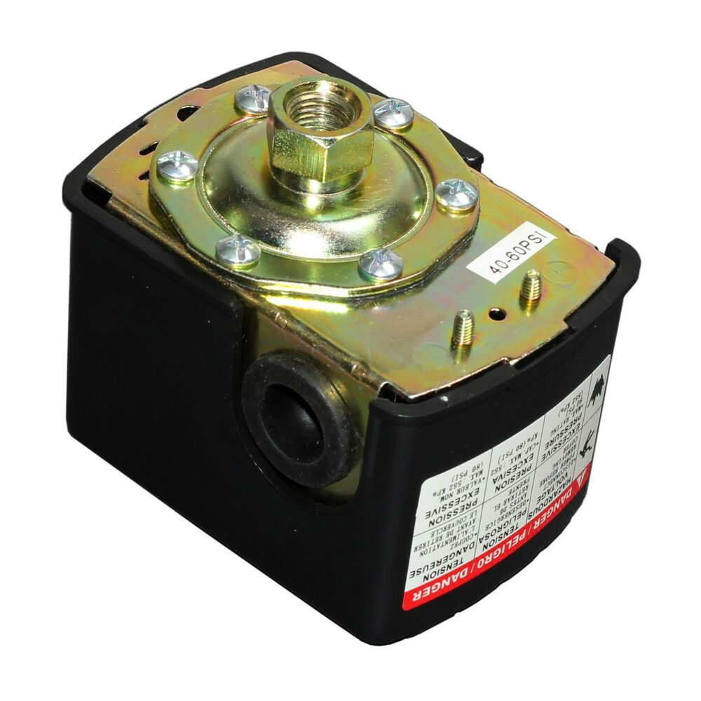 40 60 psi adjustable water pump pressure switch control for Well pump motor replacement
