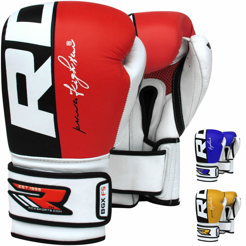 RDX Boxing Gloves Training Kick Boxing Sparring Glove ...
