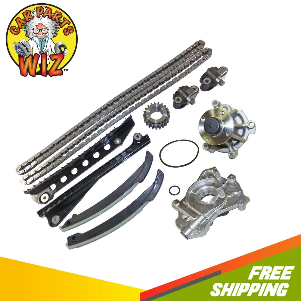 Timing Chain Kit Water Oil Pump Fits 04-06 Ford Lincoln F