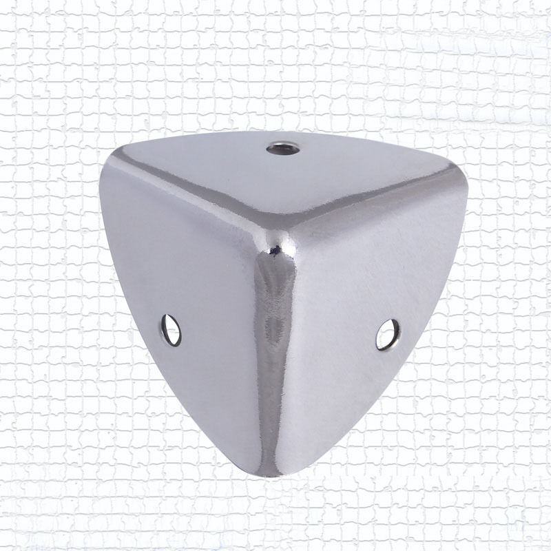 Aluminium Corner Guards : Pcs mm silver metal speaker case box cabinet corner leg