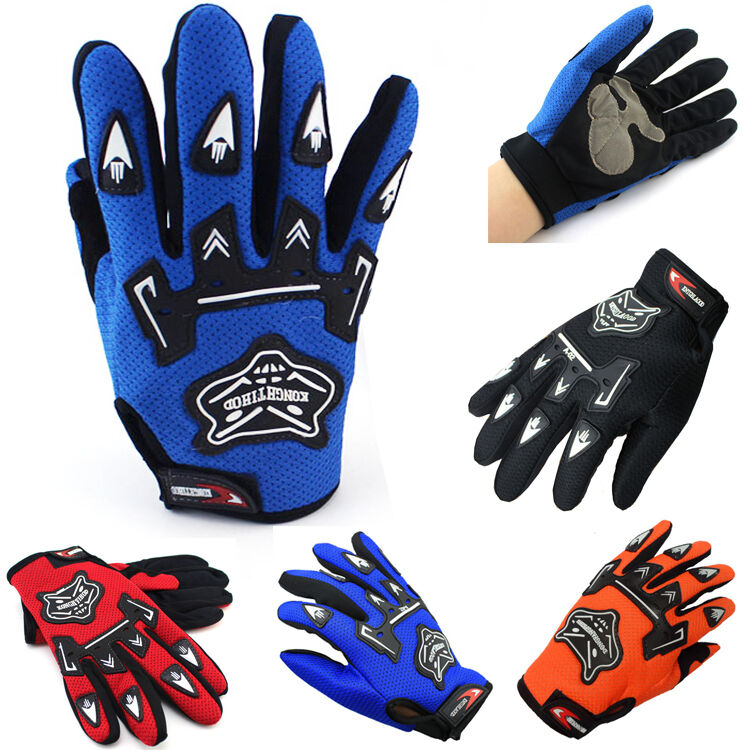 Outdoor Fitness Gloves: Full Fingers Bicycle Sports Exercise Fitness Gym Workout
