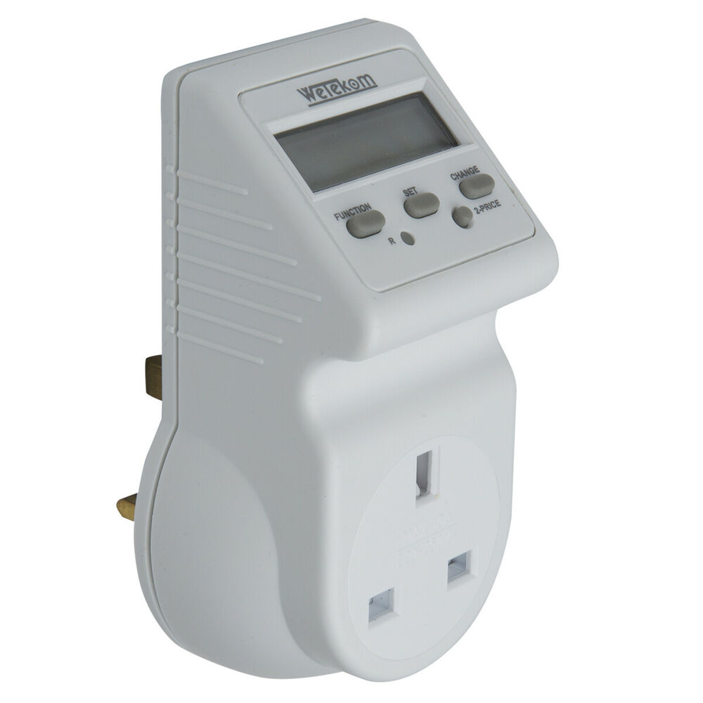 Plug In Power Meter : Energy cost meter plug in monitor power use lower
