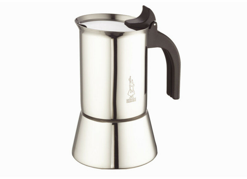Bialetti Coffee Maker History : Bialetti 10 Cup Stainless Steel Espresso Maker.New Venus Induction Coffee Maker. 8006363016858 ...