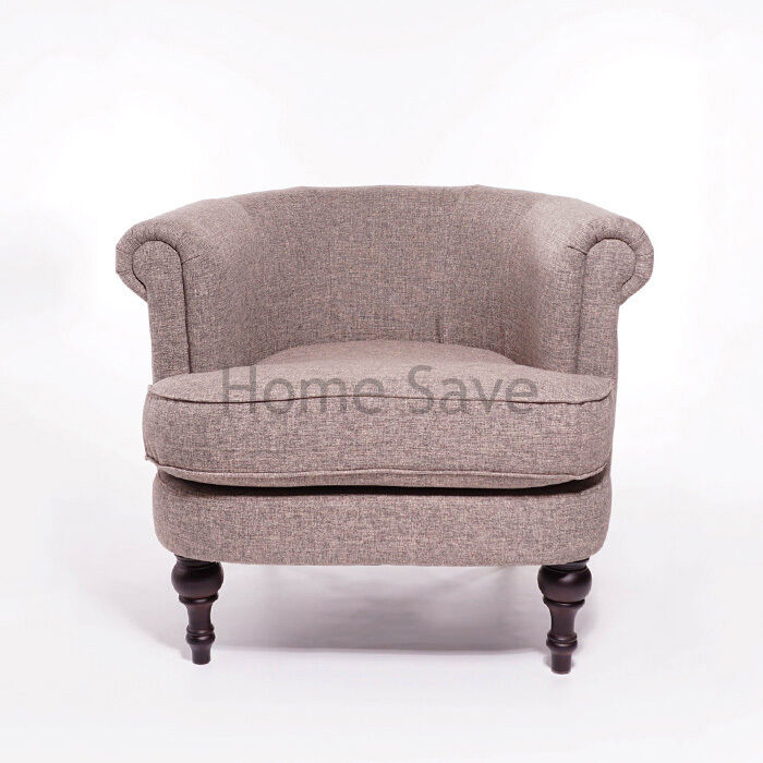 New Felix Fabric Arm Chair Tub Chair Home Interior Living Room Furniture Ebay