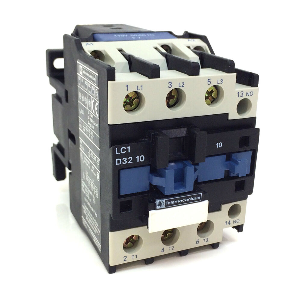 Contactor 023152 Telemecanique 110vac 15kw Lc1d3210f7 Ebay Lc1 Wiring