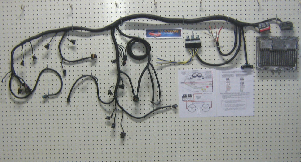 Lt1 Engine Wiring Harness And Pcm Calibration Stand Alone