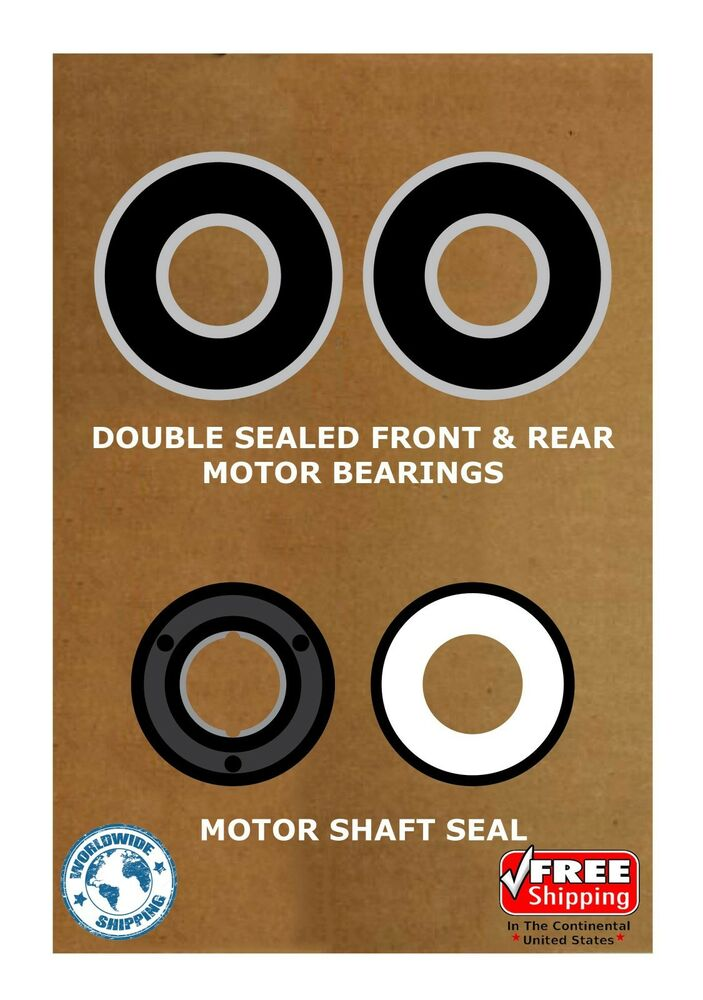 Pool spa motor bearing kit shaft seal usq1102 usq1152 Pool motor bearings