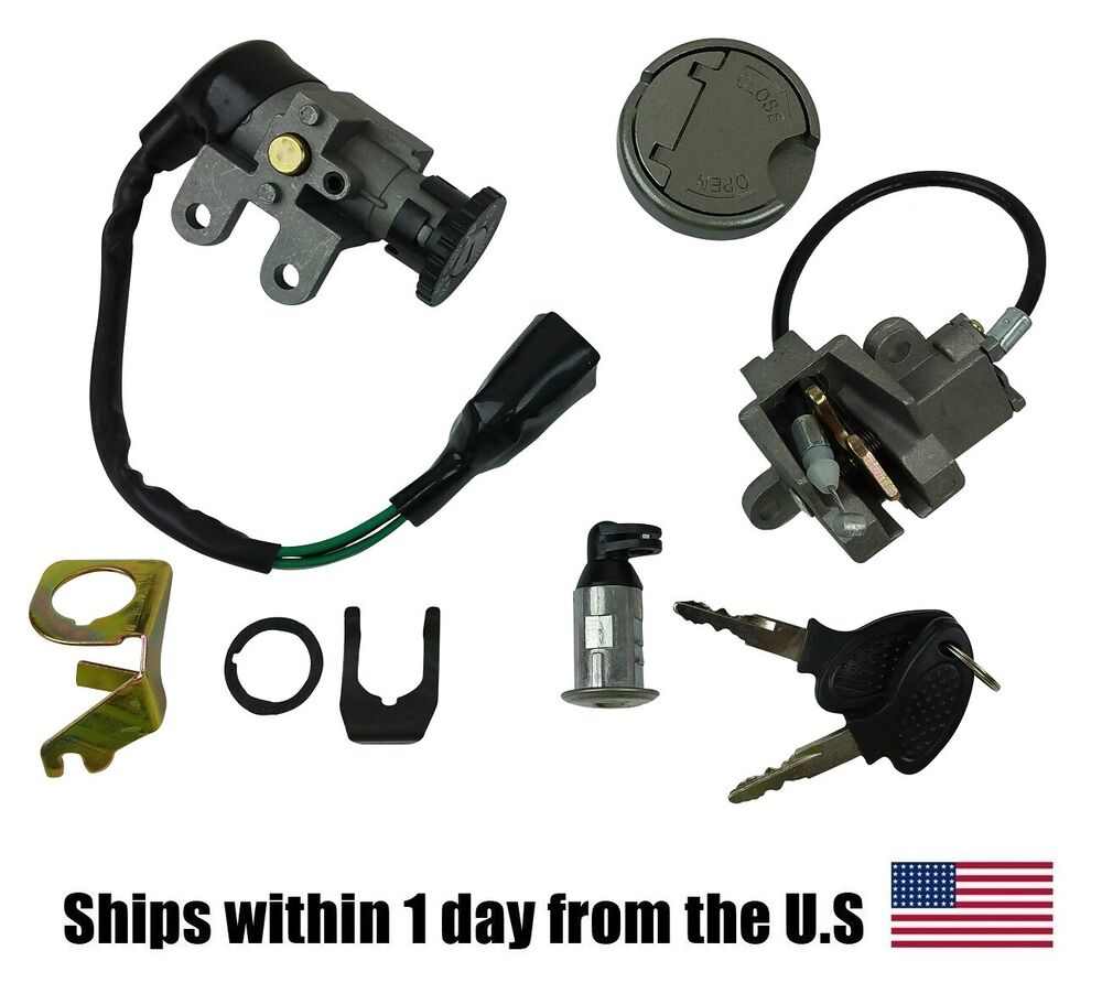 Complete Ignition Key Switch Set Gas Scooter 50cc 150cc GY6 Chinese Moped Parts | eBay