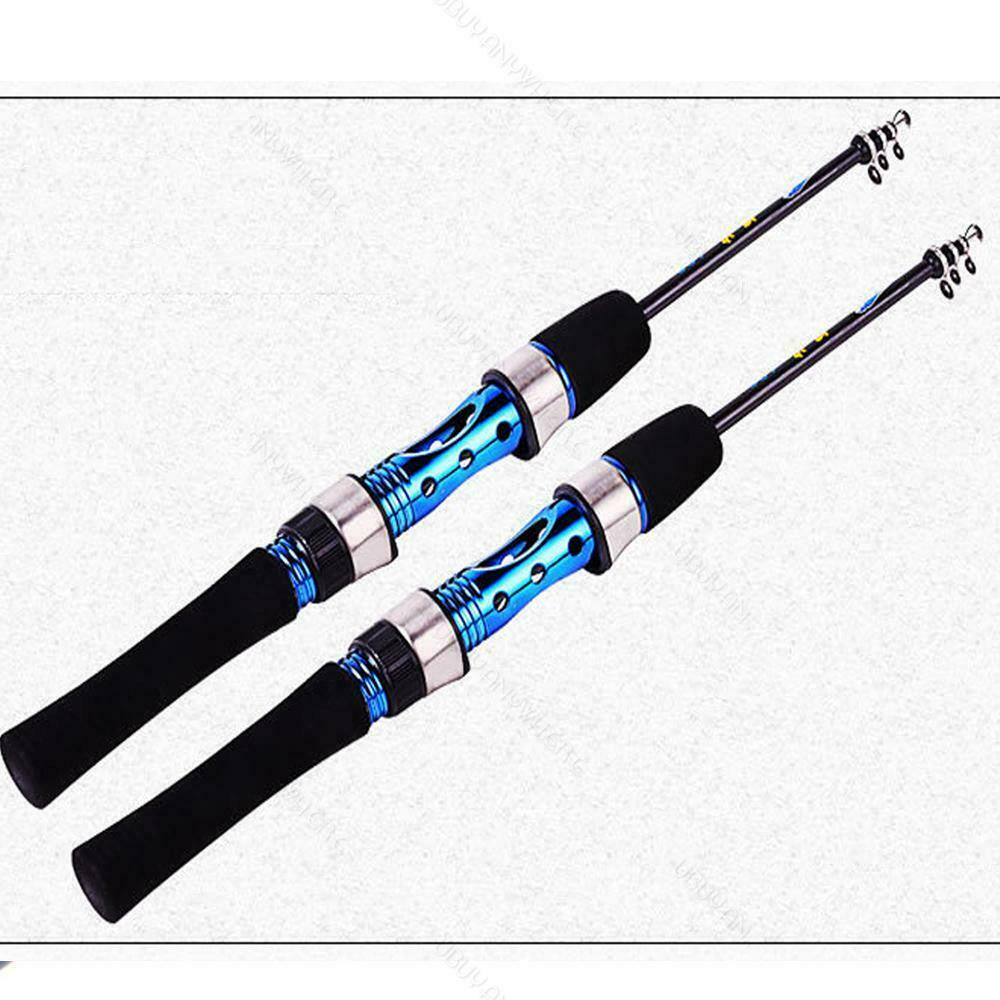 Fishing rod portable ice spinning u travel for Mini fishing rod
