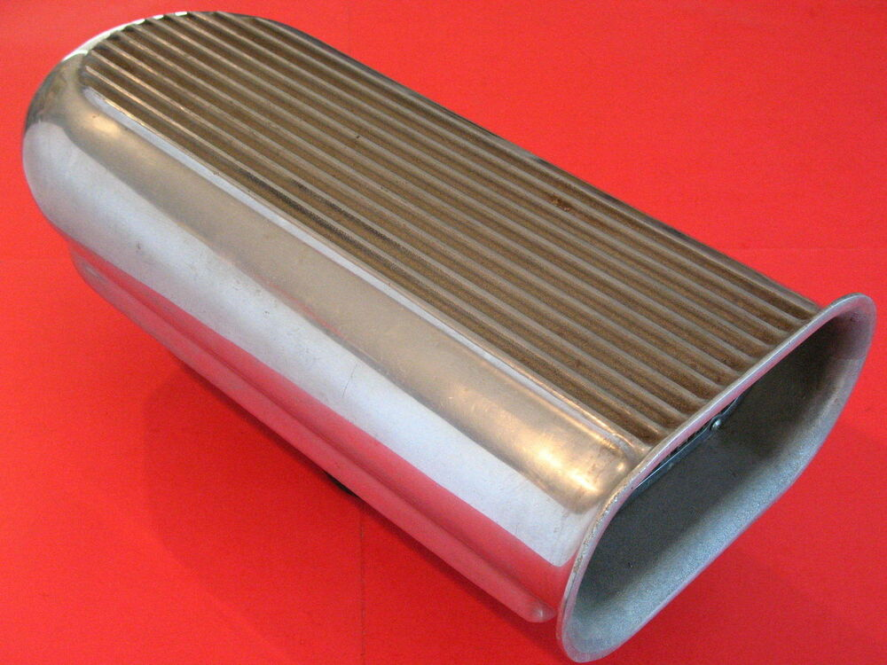 Tunnel Ram Scoop Air Cleaner : Mr gasket hilborn style dual quad scoop tunnel ram blower