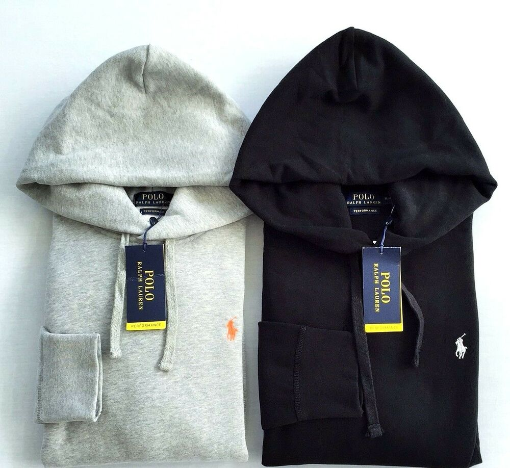 new polo ralph lauren men 39 s solid fleece pullover hoodie sweatshirt ebay. Black Bedroom Furniture Sets. Home Design Ideas