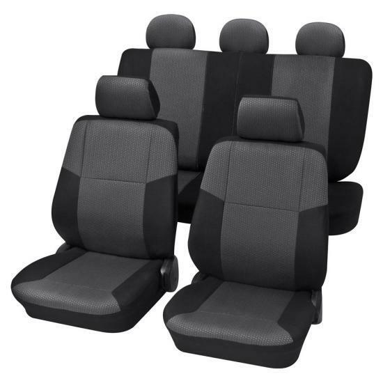 Charcoal Grey Premium Car Seat Cover Set
