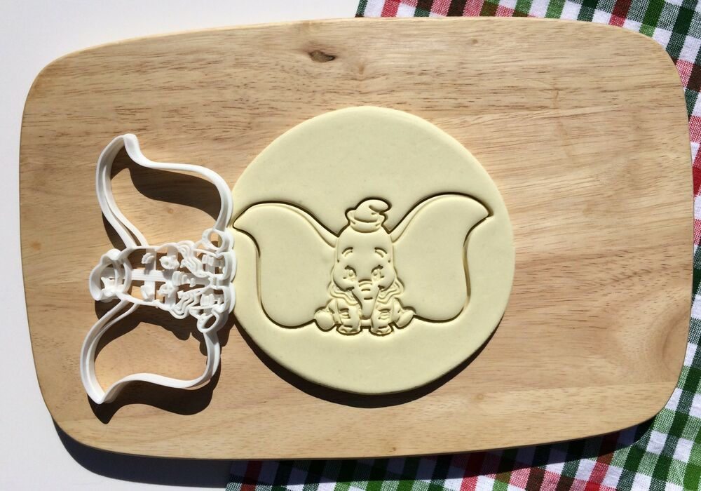 Dumbo Disney Cookie Cutter Cupcake Topper Fondant Gingerbread Party Ebay