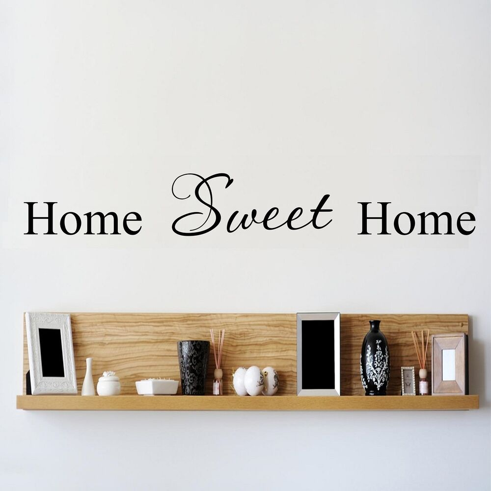 Wall stickers home sweet home - Wall Stickers Quotes Home Sweet Home Home Sweet Home Wall Quote Stickers Home Art Decal