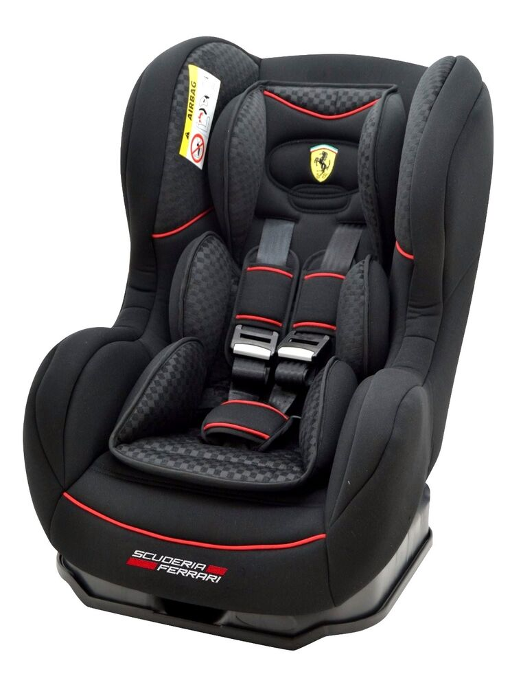 ferrari cosmo black gt autositz kindersitz baby seat 0. Black Bedroom Furniture Sets. Home Design Ideas