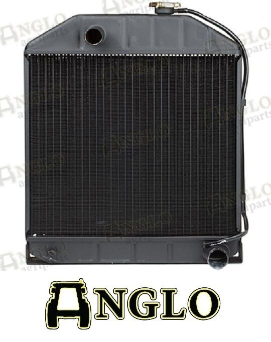 Tractor Fuel Cooler : Ford less oil cooler tractor radiator
