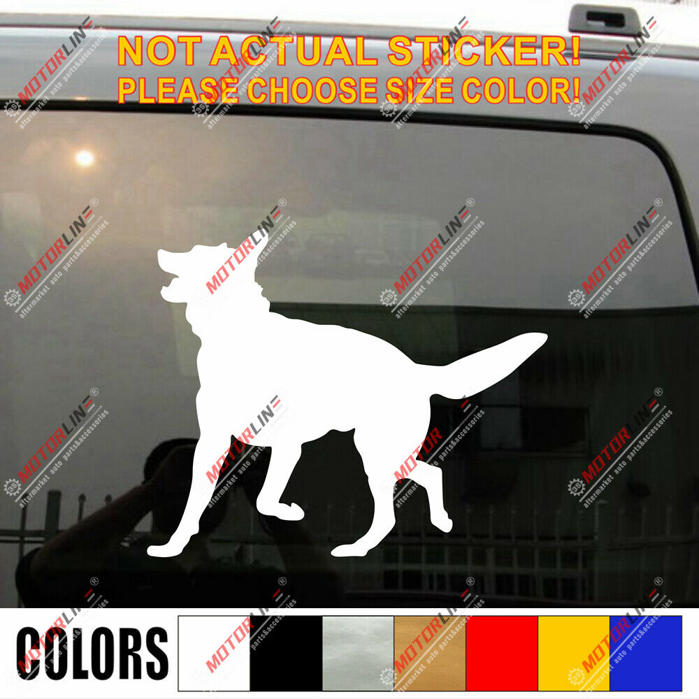 German Shepherd Dog Car Decal Sticker Ebay