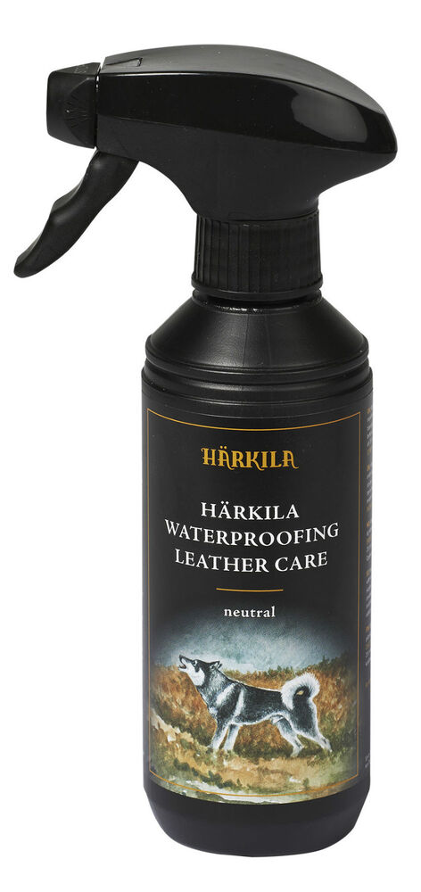 harkila waterproofing leather care spray boots and shoes