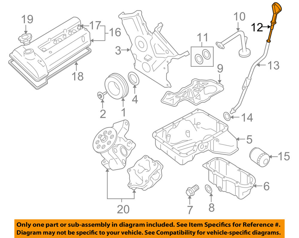 suzuki 2 0 engine diagram 1995 vw jetta 2 0 engine diagram suzuki oem 06-08 grand vitara 2.7l-v6 engine-oil fluid ...