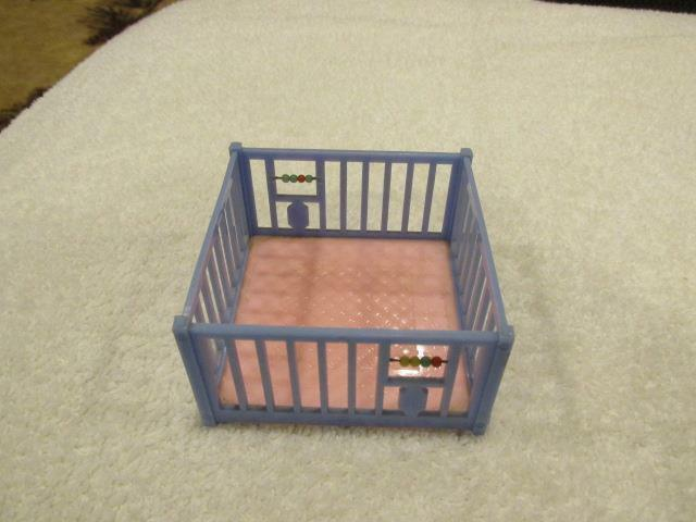 Vintage plastic dollhouse furniture