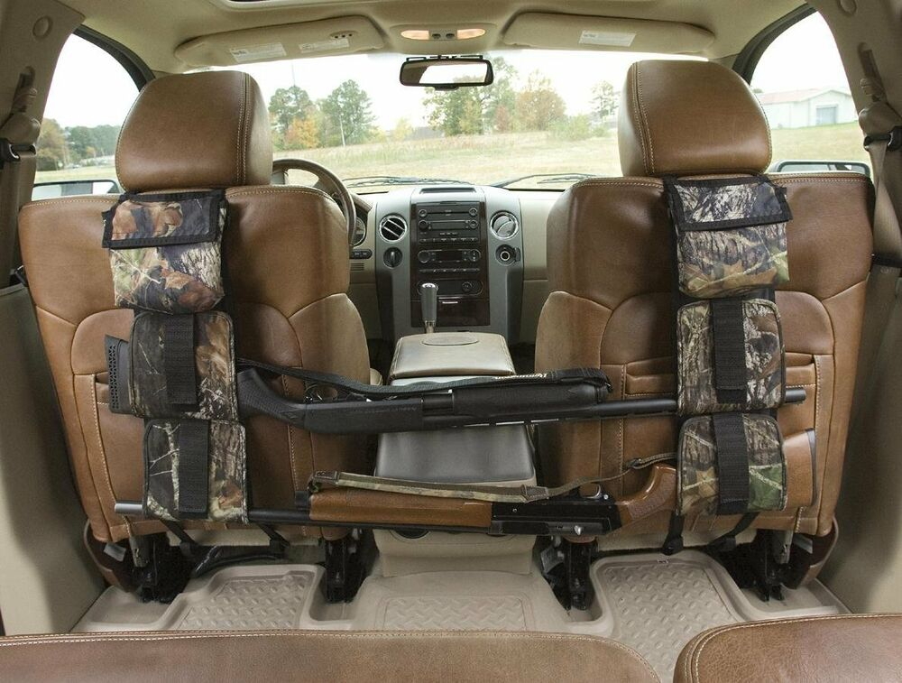 Back Seat Gun Rifle Rack Shotgun Storage Vehicle Truck