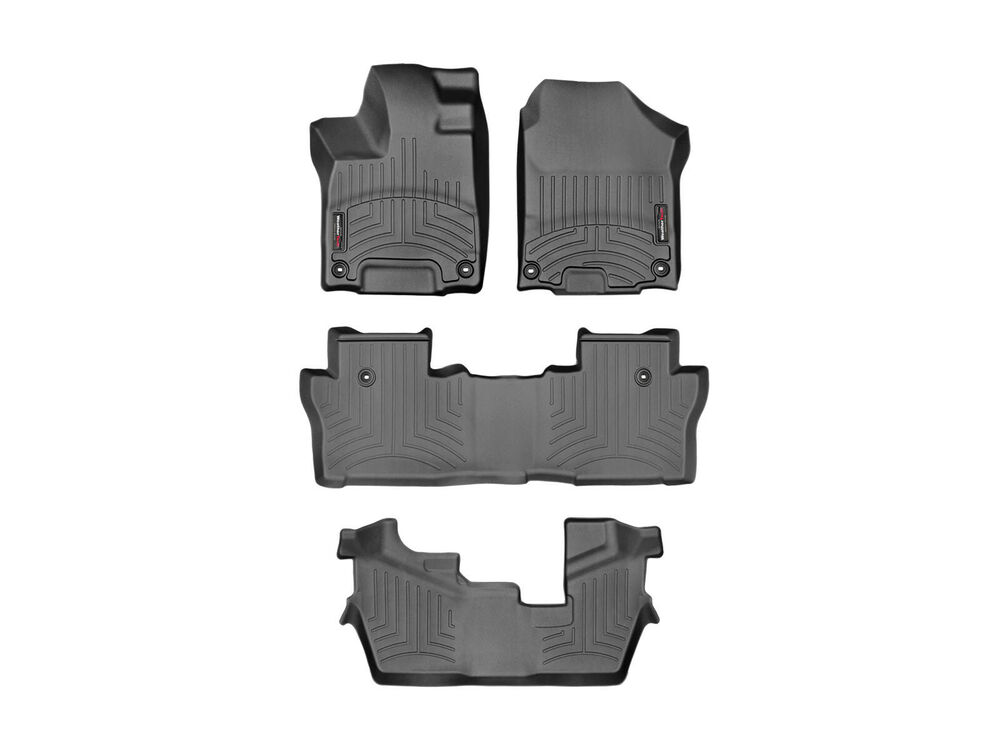 Weathertech Floor Mat Floorliner For Honda Pilot 16 17