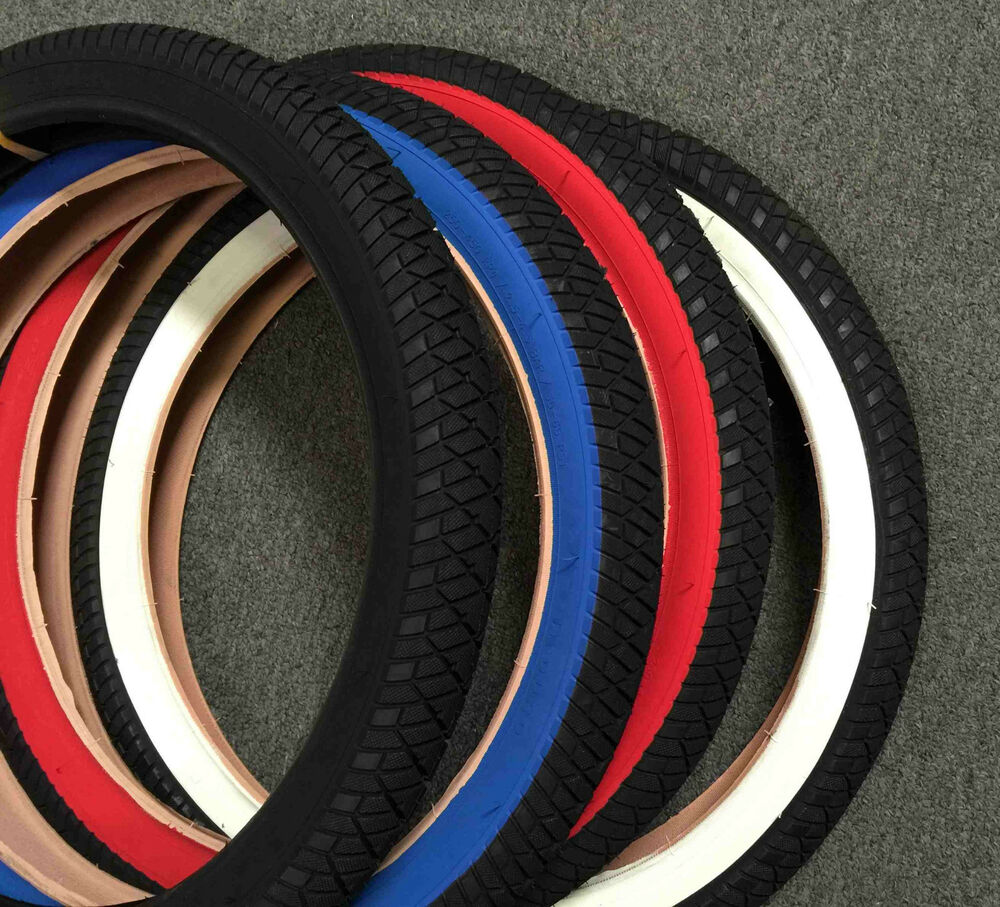 """pair of 20""""x2.25 BMX Bike Tires Free style pick up color ..."""