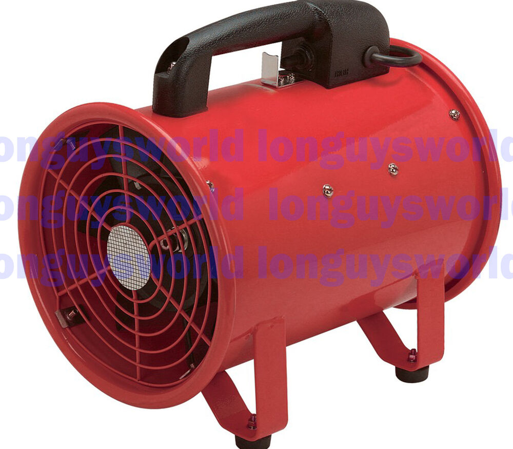 Portable Exhaust Blower : Portable air blower ventilator powerful speed motor