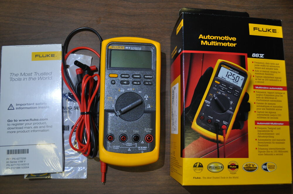 Fluke 12 Multimeter Repair Parts