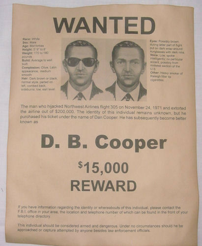 Wanted Poster – Wanted Criminal Poster