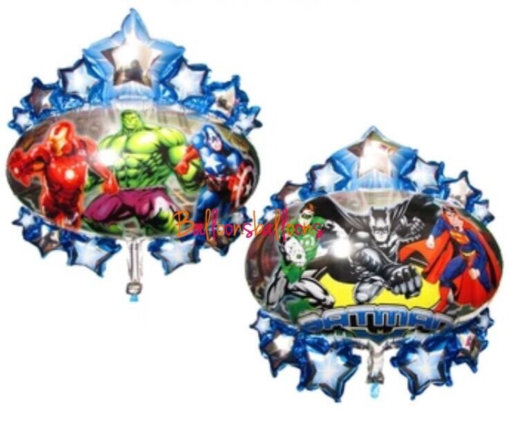 Superhero avengers marvel justice league foil large