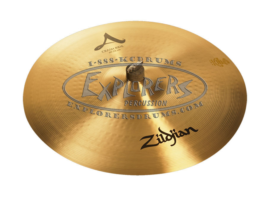 zildjian a series 20 crash ride cymbal a0024 newly redesigned for 2013 ebay. Black Bedroom Furniture Sets. Home Design Ideas