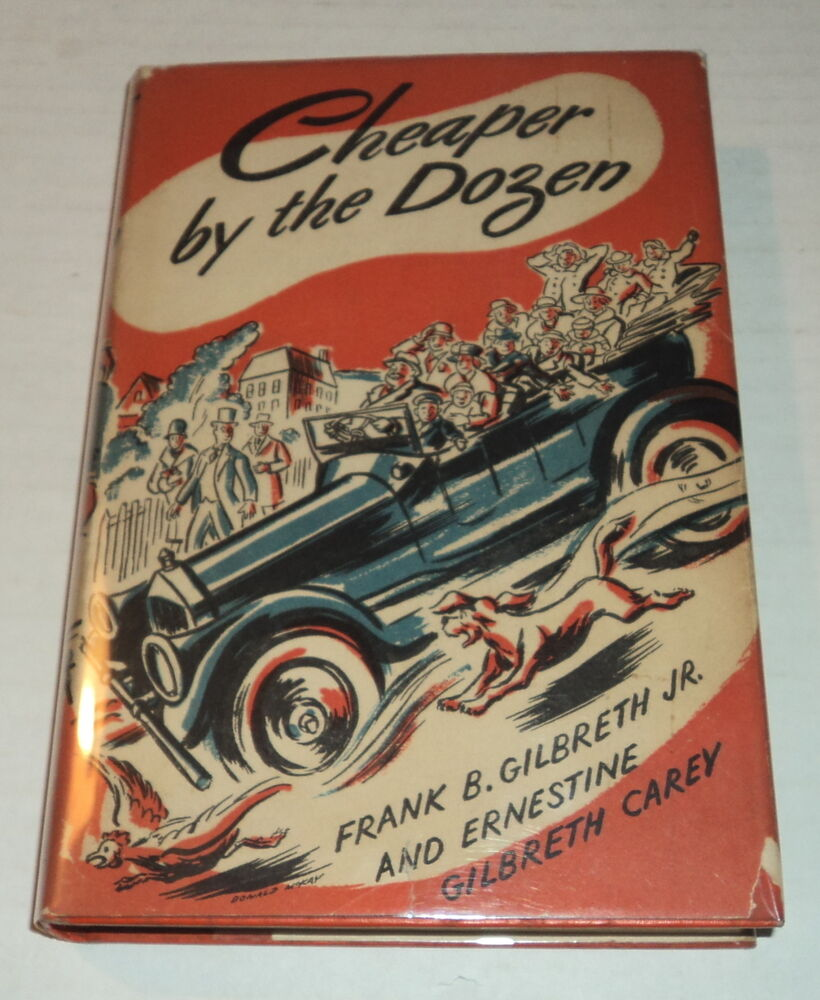 a book analysis of cheaper by the dozen ernestine gilbreth carey and frank bunker gilbreth jr Listen to cheaper by the dozen audiobook by ernestine gilbreth carey, frank b gilbreth stream and download audiobooks to your computer, tablet or mobile phone.