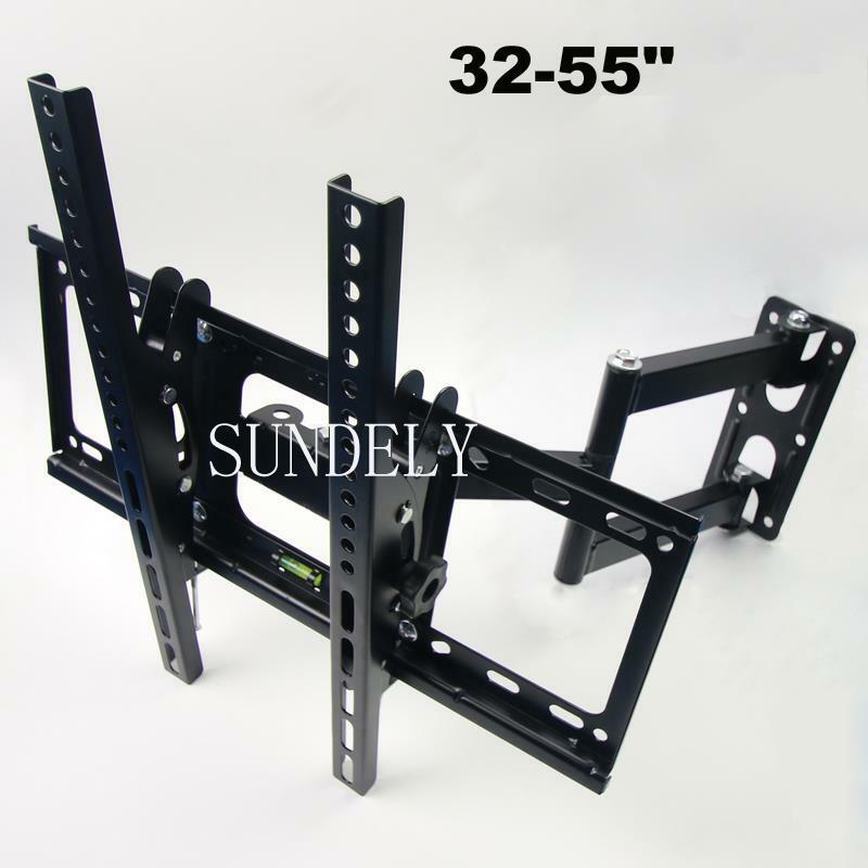 Tilt Swivel Arm Corner Led Lcd 3d Tv Wall Mount Bracket