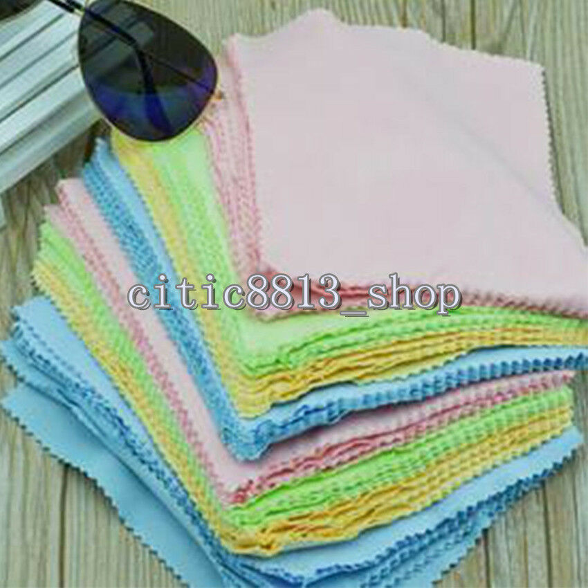 Microfiber Cleaning Cloth For Camera Lens: 10xSquare Microfiber Phone Screen Camera Lens Glasses