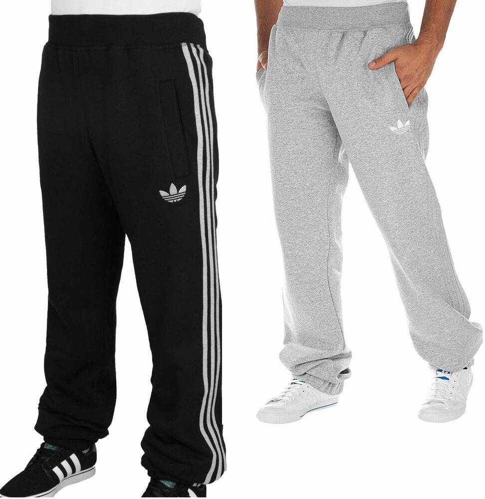 mens new adidas originals joggers tracksuit jogging. Black Bedroom Furniture Sets. Home Design Ideas