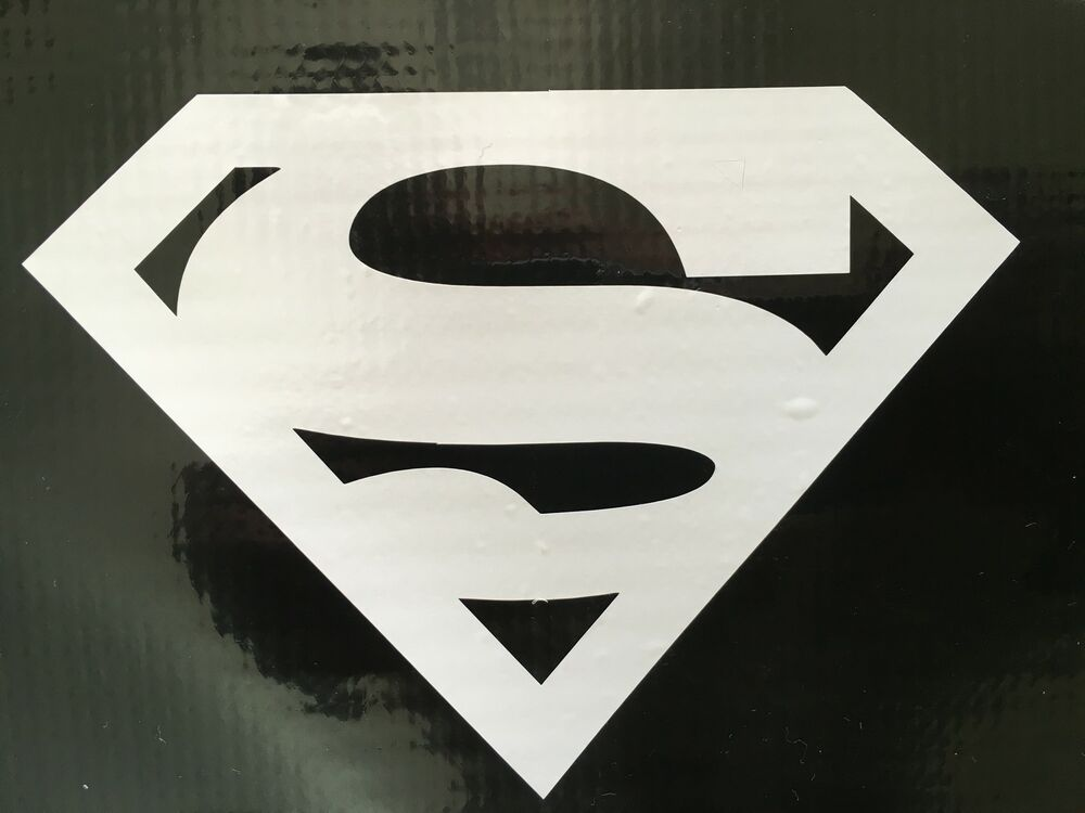 Superman Logo Justice League Decal Sticker Vinyl Wall